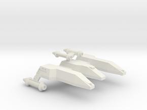 3788 Scale Lyran Jaguar-H Heavy War Cruiser CVN in White Natural Versatile Plastic