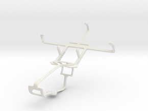 Controller mount for Xbox One & ZTE Kis V788 in White Natural Versatile Plastic
