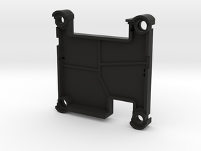 X2.1 Case - Top - Vertical Pins in Black Natural Versatile Plastic