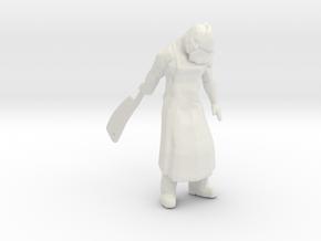 Silent Hill Butcher miniature fantasy rpg horror in White Natural Versatile Plastic