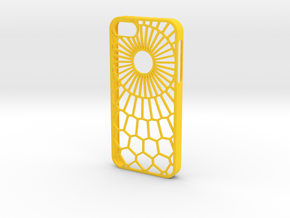 Sunny Day iPhone 5/5s case in Yellow Processed Versatile Plastic