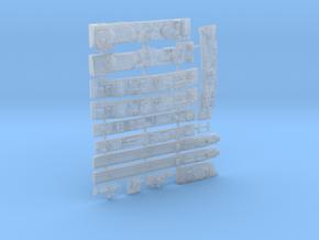 Bandai Falcon Sidewalls, 1:144 in Smooth Fine Detail Plastic