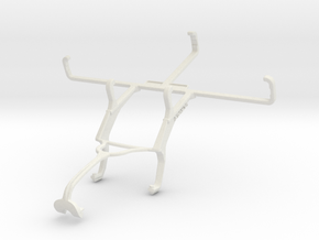 Controller mount for Xbox 360 & Samsung Galaxy Xco in White Natural Versatile Plastic