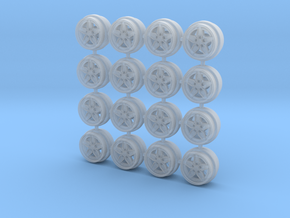 Lancia Coffin Spokes 8MM OD - 4 sets in Smoothest Fine Detail Plastic