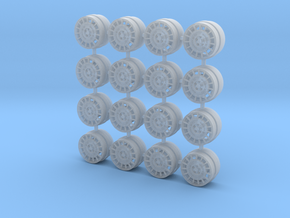 OZ Rally 8mm OD - Four sets in Smoothest Fine Detail Plastic
