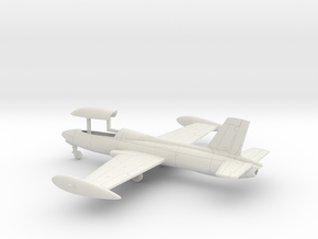002P Macchi MB-326 Gear Down 1/100 in White Natural Versatile Plastic