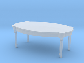 Antique Table 1/48 in Smooth Fine Detail Plastic