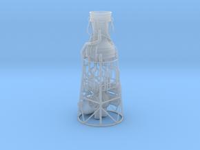 V-2 aka A-4 Engine scale model in Smooth Fine Detail Plastic: 1:48 - O