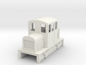 009 Centercab diesel loco 3b in White Strong & Flexible