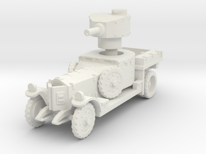 Armored car 1924 pattern 1:100 in White Natural Versatile Plastic