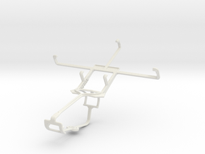 Controller mount for Xbox One & ZTE Flash in White Natural Versatile Plastic