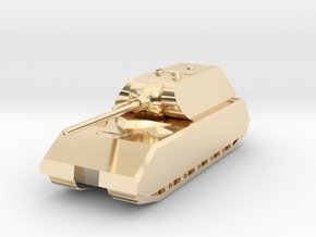 Tank - Panzer VIII Maus - size Small in 14K Yellow Gold