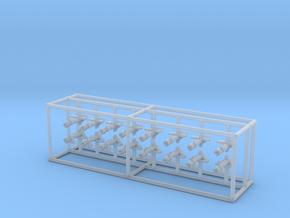 1/350 DKM Paravane Set x16 in Smooth Fine Detail Plastic