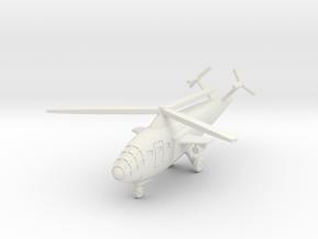 (1:285) Focke Achgelis Fa.283 w/ V-tail in White Natural Versatile Plastic