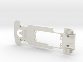 PSCA01901 Chassis for Carrera Mercedes AMG C63 DTM in White Natural Versatile Plastic
