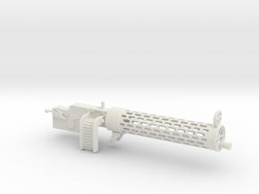 Spandau gun 1/12 in White Natural Versatile Plastic