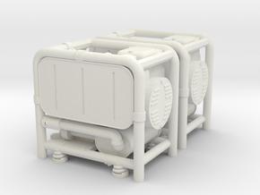 1:16 German WW2 GG-400 Generator Set in White Natural Versatile Plastic
