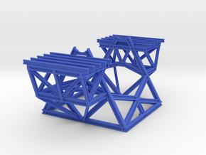 Keck-Telescope-Pier-v7  (1:170) in Blue Processed Versatile Plastic