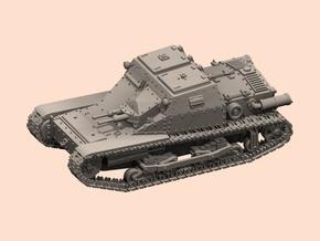 1/72 Italian tankette L3/35 TEST in White Processed Versatile Plastic
