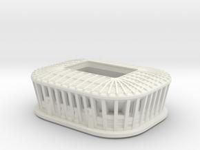 Ras Abu Aboud Stadium -  FIFA 2022 Qatar - 5CM  in White Natural Versatile Plastic