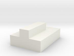 CNR Diner Tabletop (Long) in White Natural Versatile Plastic