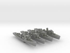 4pk German M1943 Minesweeper 1:2400 WW2 in Gray PA12