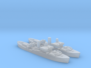2pk HMS Begonia corvette 1:1250 WW2 in Smooth Fine Detail Plastic