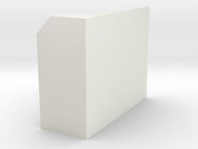 CN 5130 - 5179 Men's Washroom Wall in White Natural Versatile Plastic