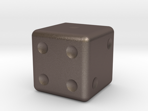 Dice in Stainless Steel