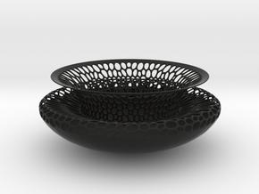 Bowl 1328 in Black Natural Versatile Plastic