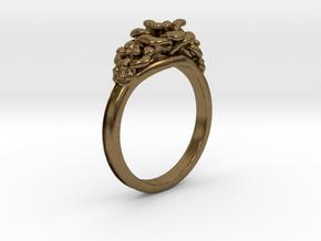 Rose Ring in Natural Bronze