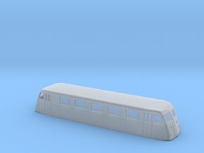 Swedish railcar Yo1 N-scale in Smooth Fine Detail Plastic