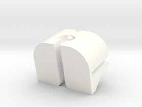 Part 3 of 4 - Folding Wall Dock - Cord Dock in White Processed Versatile Plastic