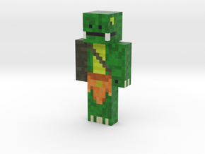 LizardManLP06 | Minecraft toy in Natural Full Color Sandstone