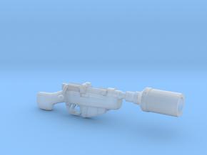 CA-87 blaster in Smooth Fine Detail Plastic
