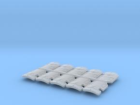 Bran Del Sangre Boarding Shields Set in Smooth Fine Detail Plastic