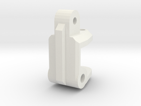TRAXXAS TRX1 CASTER BLOCK in White Natural Versatile Plastic