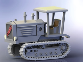 German FAMO Rübezahl Full Tracked Tractor I 1/144 in Smooth Fine Detail Plastic
