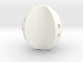 d3 apple pipped in White Processed Versatile Plastic