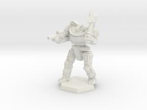 Mk7-X Heavy Mech in White Natural Versatile Plastic: Medium