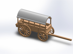 TRANSPORT WAGON in White Natural Versatile Plastic