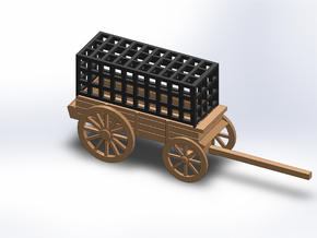 PRISON WAGON in White Natural Versatile Plastic