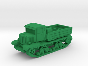 15mm Voroshilovets tractor in Green Processed Versatile Plastic