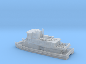 Sydney Ferry (as 1 Piece model) in Smooth Fine Detail Plastic