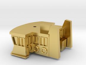 Sydney Ferry Wheelhouse in Polished Brass