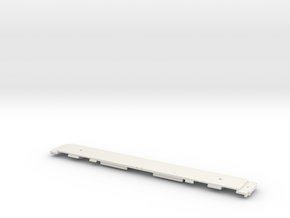 GCR Barnum Frame for N Gauge 2mm Scale in White Natural Versatile Plastic