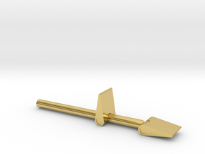 James Bond 007 - Man with the Golden Gun Trigger A in Polished Brass