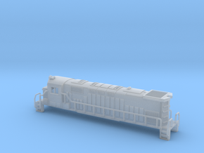 Alco 424 century Z scale in Smooth Fine Detail Plastic