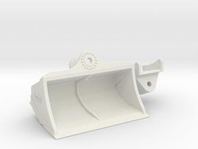 Räumlöffel / grading bucket OQ90 2.5m in White Natural Versatile Plastic: 1:50