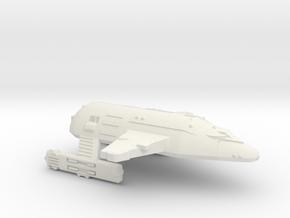 3788 Scale WYN Tigershark Heavy Battlecruiser CVN in White Natural Versatile Plastic